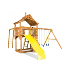 Детский городок Rainbow Play Systems carnival cottage iii monkey bar
