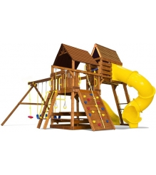 Детский городок Rainbow Play Systems carnival clubhouse package v wr...