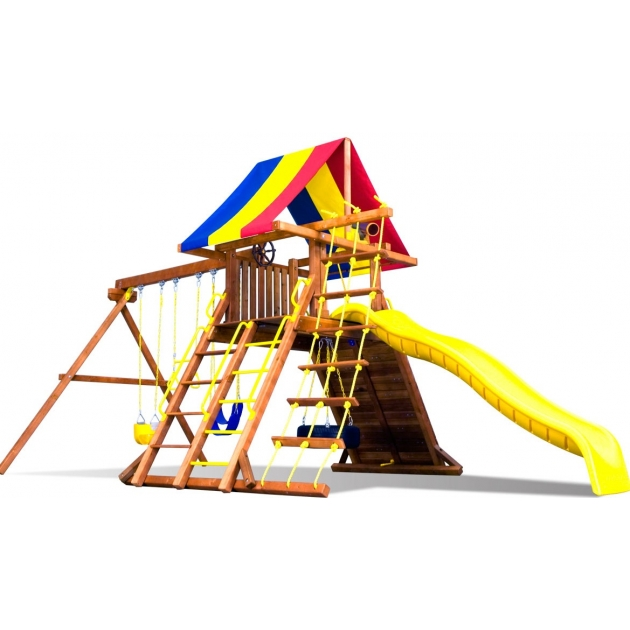 Детский городок Rainbow Play Systems fiesta castle