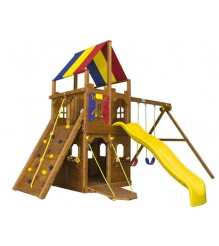Детский городок Rainbow Play Systems imaginary play sunshine clubhouse