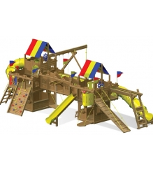 Детский городок Rainbow Play Systems kingdom double wammy