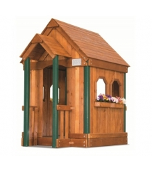 Деревянный домик Rainbow Play Systems PEL Playhouse