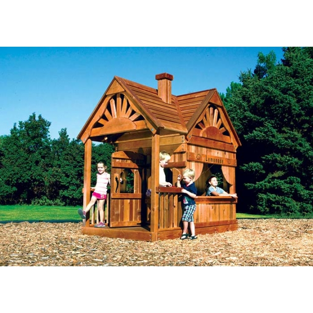 Детский домик Rainbow Play Systems Rainbow Play Systems Playhouse Design 2