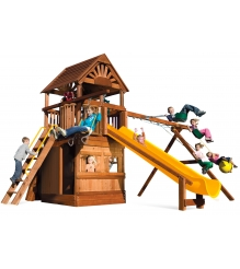 Детский городок Rainbow Play Systems sunshine clubhouse pkg ii with ll wr