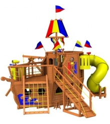 Детский городок Rainbow Play Systems ship design 2