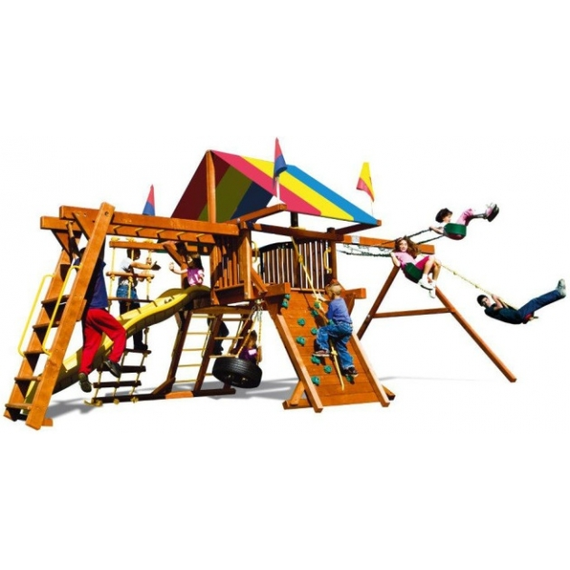 Детский городок Rainbow Play Systems sunshine castle iii