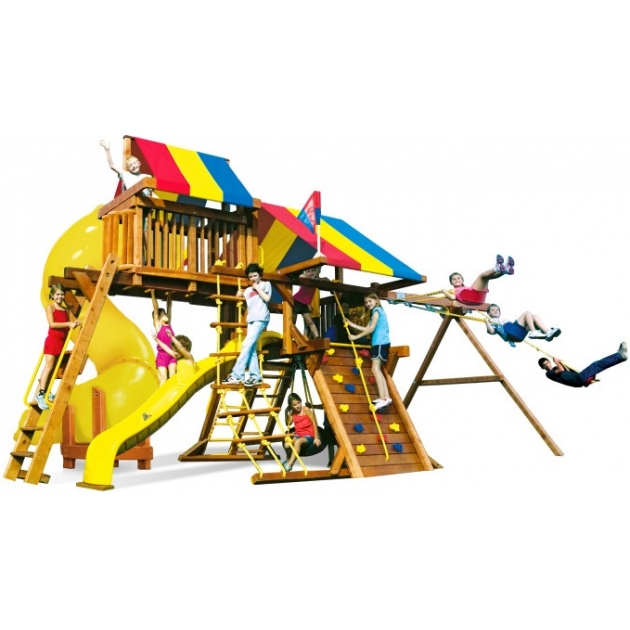 Детский городок Rainbow Play Systems sunshine castle v