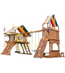 Детский городок Rainbow Play Systems sunshine castle with tower