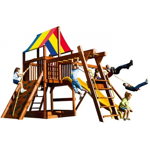 Детский городок Rainbow Play Systems sunshine clubhouse pkg iii ryb light
