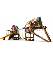 Детский городок Rainbow Play Systems sunshine clubhouse with tower