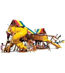 Детский городок Rainbow Play Systems sunshine double wammy