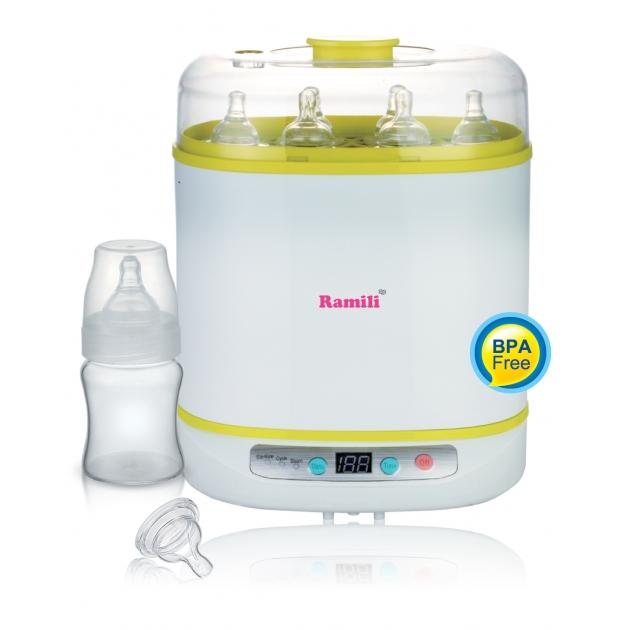 Стерилизатор для бутылочек баночек и аксессуаров Ramili BSS150 универсальный