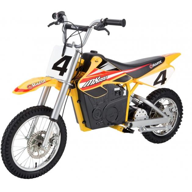 Электромобиль мотоцикл Razor MX650 020608