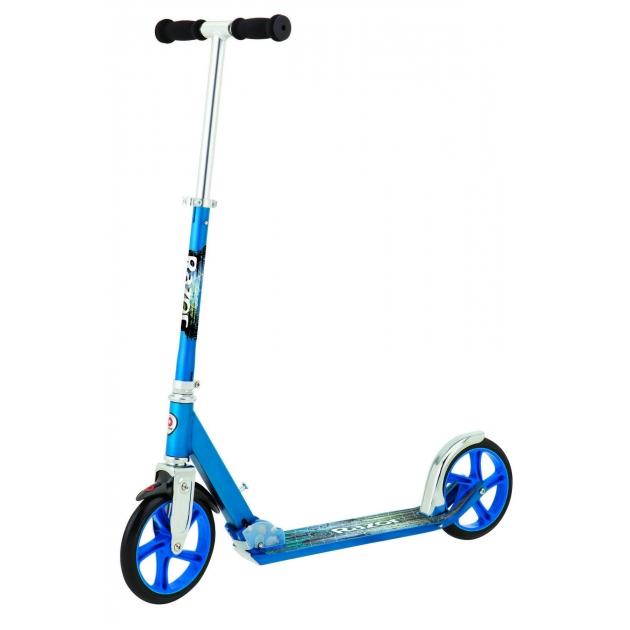 Двухколесный детский самокат Razor A5 lux синий 13073042