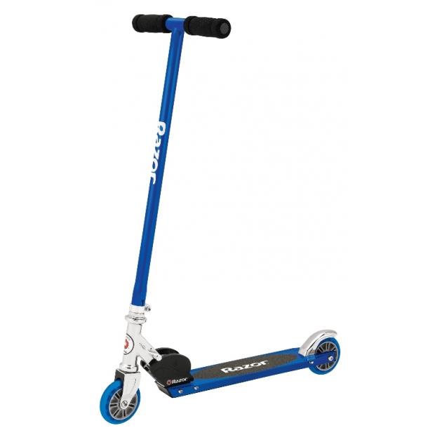 Двухколесный детский самокат Razor S Scooter синий 13073043