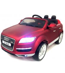 Электромобиль Audi Q7 VIP с дистанционным управлением Rivertoys красный