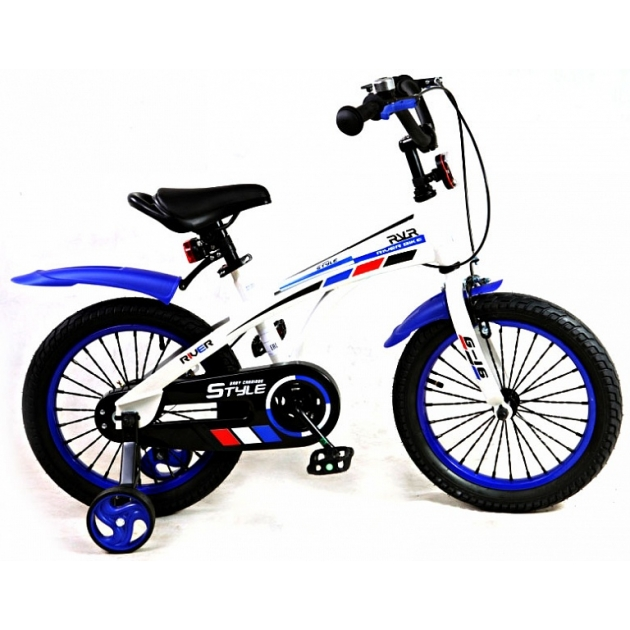 Детский двухколесный велосипед Rivertoys RiverBike G-16 (от 4 до 6 лет)