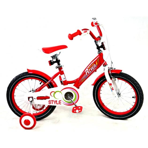 Детский двухколесный велосипед Rivertoys RiverBike M-14 (от 3 до 5 лет)