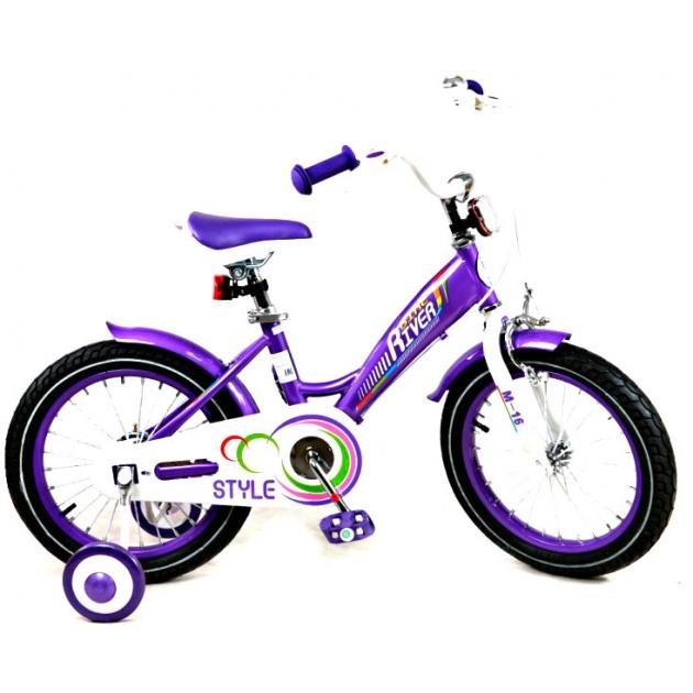 Детский двухколесный велосипед Rivertoys RiverBike M-12 (от 2 до 4 лет)