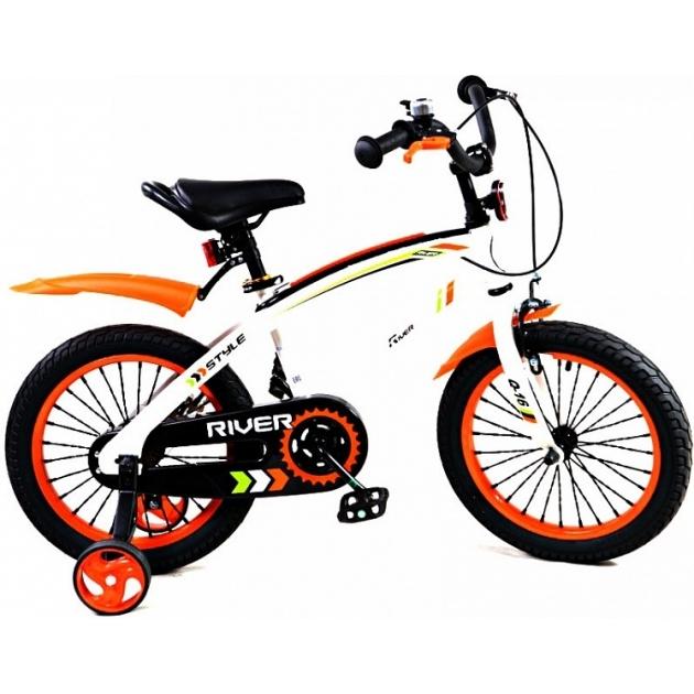 Детский двухколесный велосипед Rivertoys RiverBike Q-12 (от 2 до 4 лет)