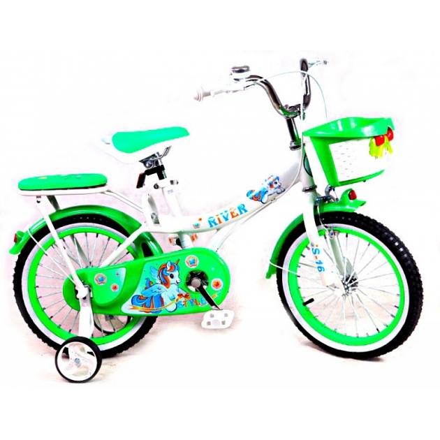 Детский двухколесный велосипед Rivertoys RiverBike S-16 (от 4 до 6 лет)