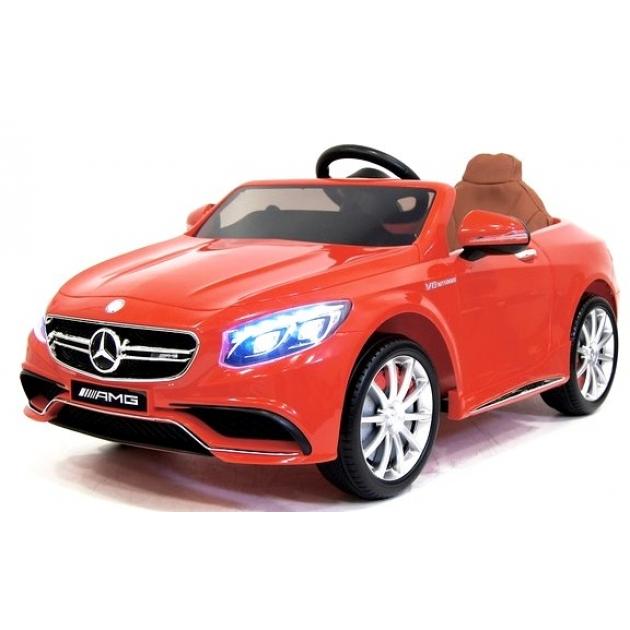 Электромобиль Mercedes Benz S63 с дистанционным управлением Rivertoys