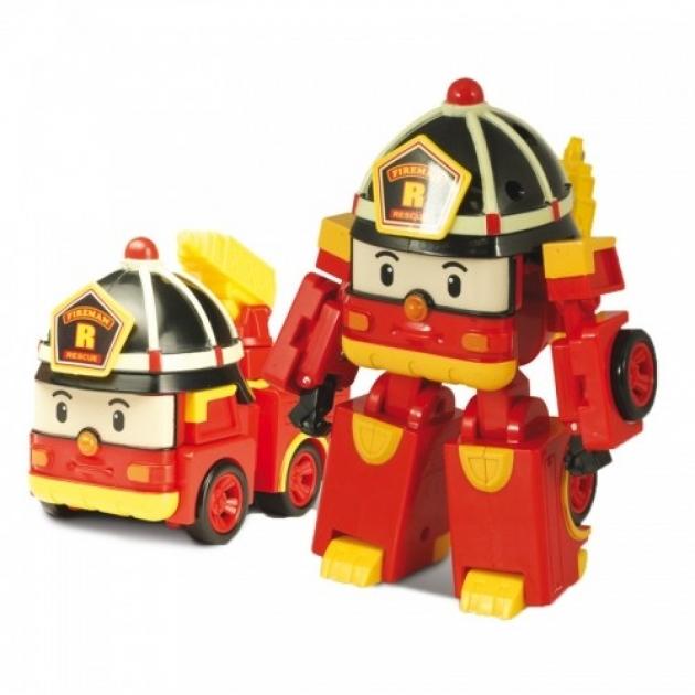 Машинка-трансформер Рой мини 7,5 см 83049 Робокар Поли