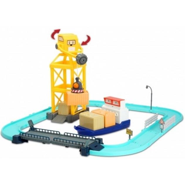 Порт с разводным мостом (Терри 12см в комплекте) 83083 Робокар Поли