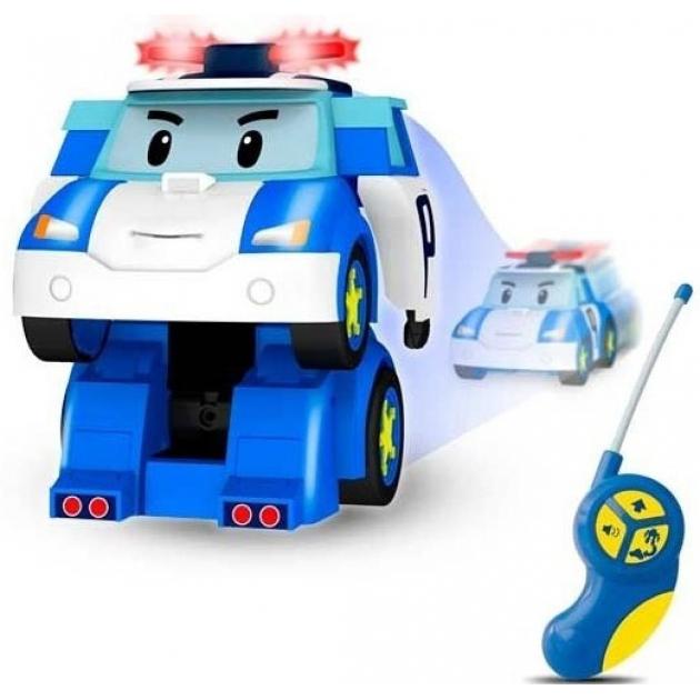 Робот-трансформер Поли на радиоуправлении 83086 Робокар Поли