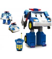 Робот-трансформер Поли на радиоуправлении (31 см) 83185 Робокар Поли