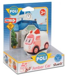 Silverlit Робокар Поли умная Машинка Эмбер 83242