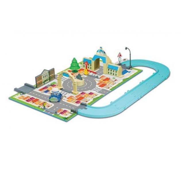 Набор «Город» мэрия (машинка Масти в комплекте) 83279 Робокар Поли