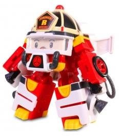 Рой трансформер 10 см с костюмом астронавта Robocar Poli 83313...