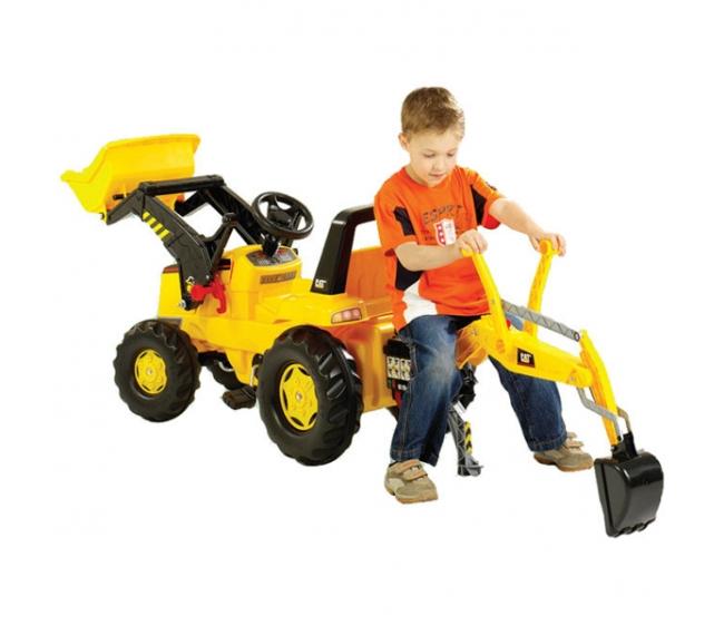 Педальные трактора Rolly toys - Планета игрушек