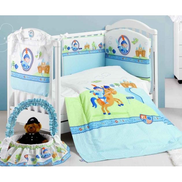 Комплект в кроватку 5 предметов Roman Baby Principe 5801