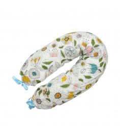Подушка для беременных Roxy Mama's Helper Премиум Флора кармашек и завязки ART0133