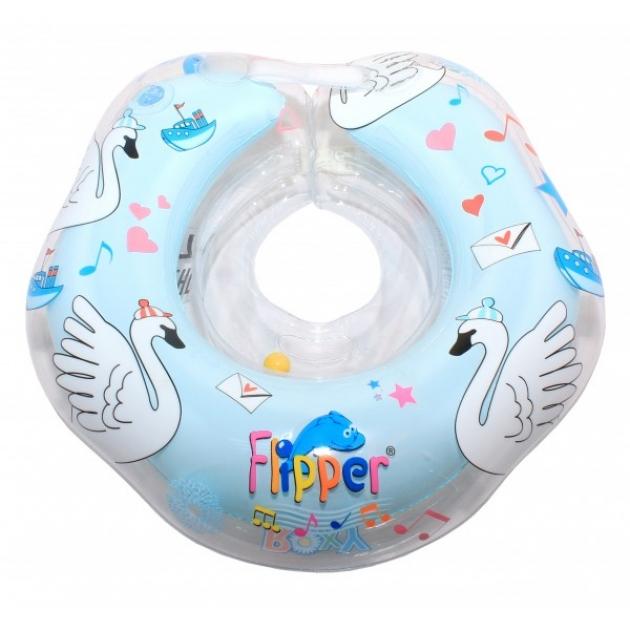 Круг на шею ROXY KIDS Flipper Swan Lake Мusic голубой FL004