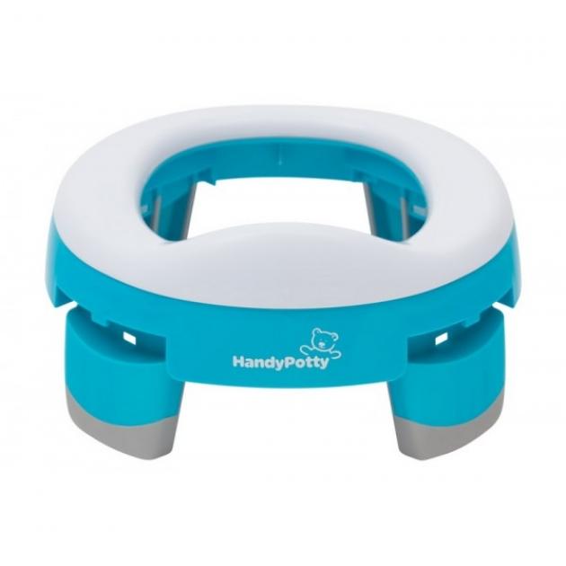 Складной дорожный горшок Roxy kids HandyPotty голубой HP-245A