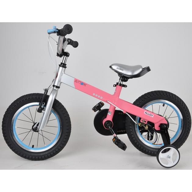 Двухколесный велосипед Royal Baby Alloy Buttons Diy 4-6 лет RB14-16