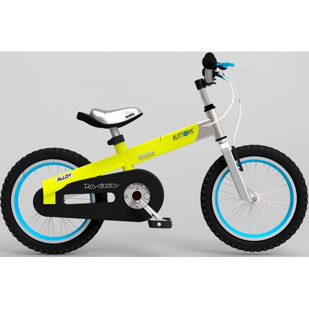 Двухколесный велосипед Royal Baby Alloy Buttons Diy 4-8 лет RB16-16