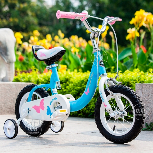 Двухколесный велосипед Royal Baby Butterfly Steel от 3 до 5 лет RB14-19