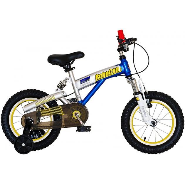Двухколесный велосипед Royal Baby Robocop 2-4 года RB12B-8