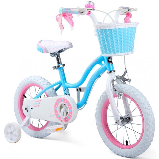 Двухколесный велосипед Royal Baby Stargirl Steel 2-4 года RB12G-1
