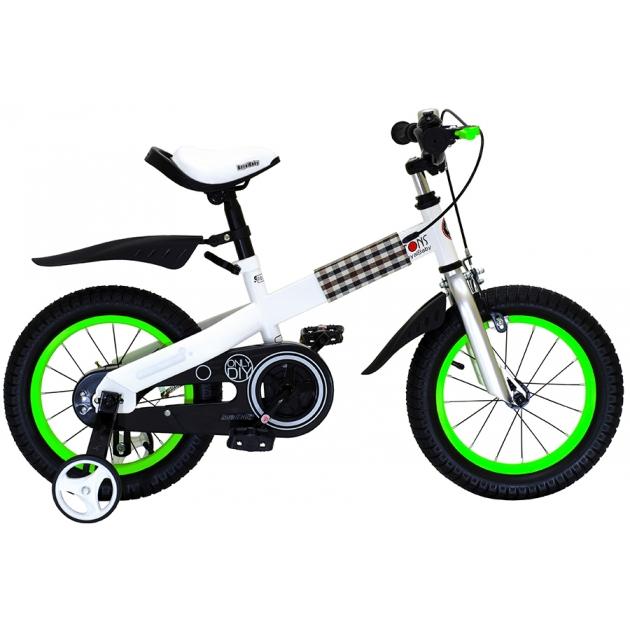 Двухколесный велосипед Royal Baby Buttons Steel 2-4 года RB12-15