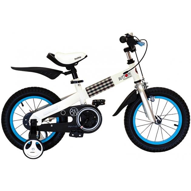 Двухколесный велосипед Royal Baby Buttons Steel 3-5 лет RB14-15