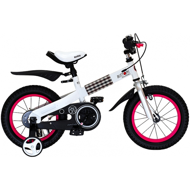 Двухколесный велосипед Royal Baby Buttons Steel 4-6 лет RB16-15