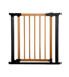 Ворота Safe and Care на распорках сосна черный 77-83.5 см 340-03...