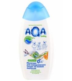 Молочко Sanosan AQA baby для ежедневного ухода за кожей малыша 250 мл...