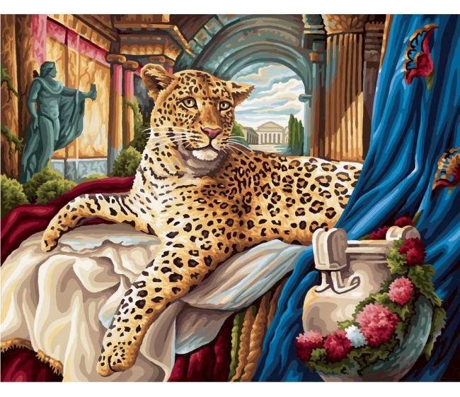 Эльдорадо раскраска по номерам 122