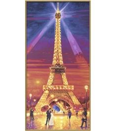 Раскраска по номерам Schipper Эйфелева башня ночью 9220716